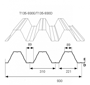 T135 930 D