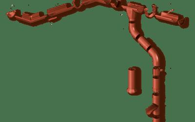 Sistem de jgheaburi de oțel INGURI® 125/87 , 150/100